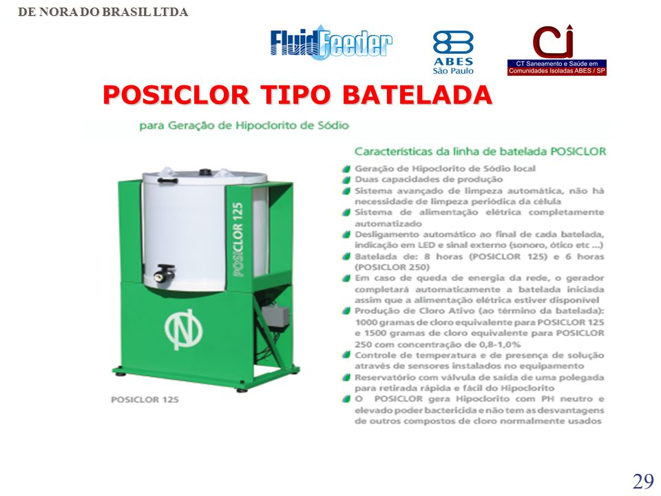 POSICLOR TIPO BATELADA