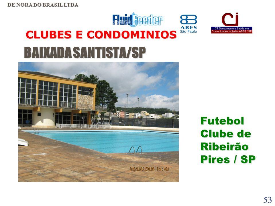 BAIXADA SANTISTA/SP CLUBES E CONDOMINIOS