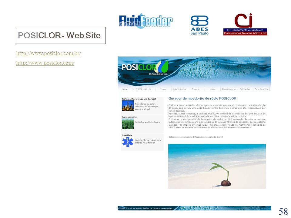 POSICLOR - Web Site http://www.posiclor.com.br/