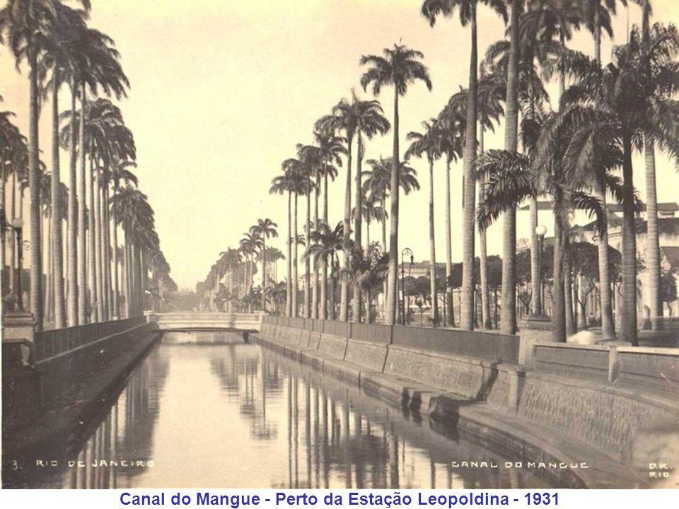 Canal do Mangue - Perto da Estação Leopoldina - 1931