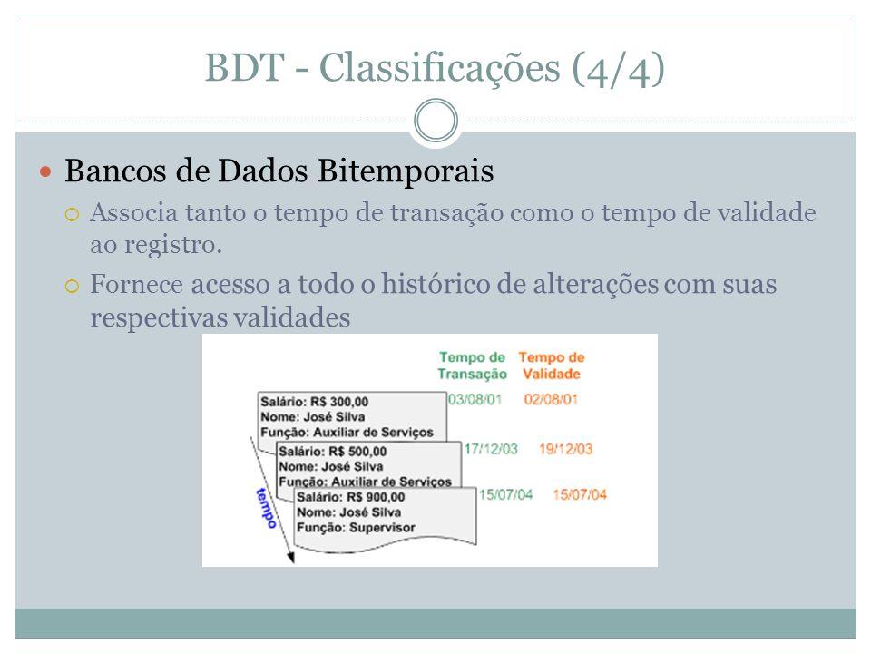 BDT - Classificações (4/4)