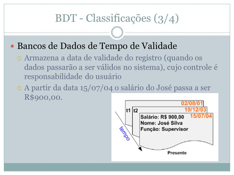 BDT - Classificações (3/4)