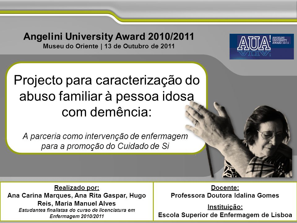 Angelini University Award 2010/2011