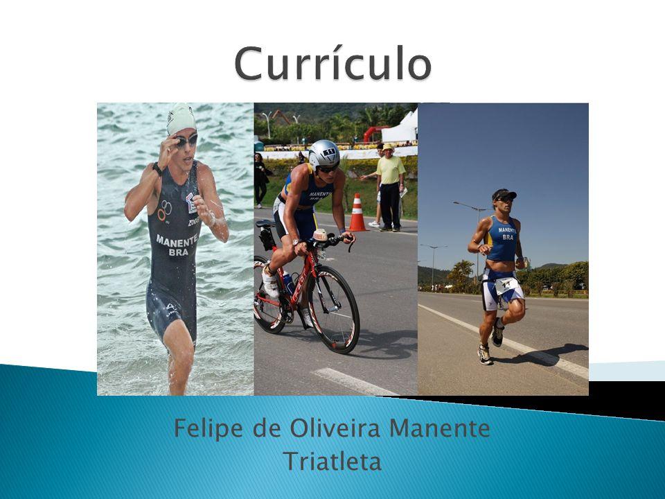 Felipe de Oliveira Manente Triatleta