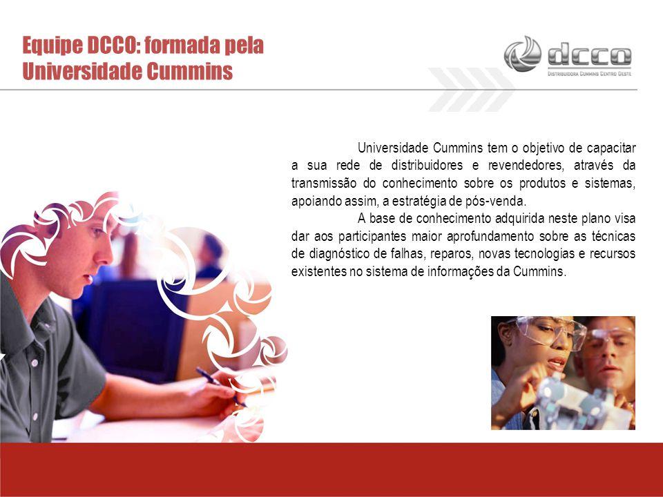 Equipe DCCO: formada pela Universidade Cummins