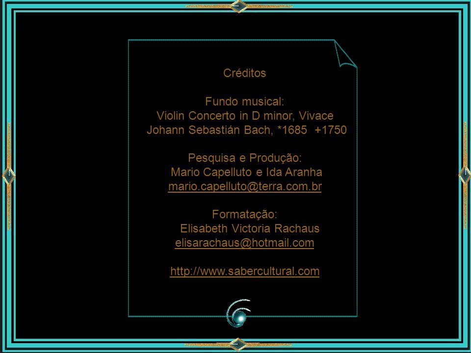 Violin Concerto in D minor, Vivace Johann Sebastián Bach, *1685 +1750