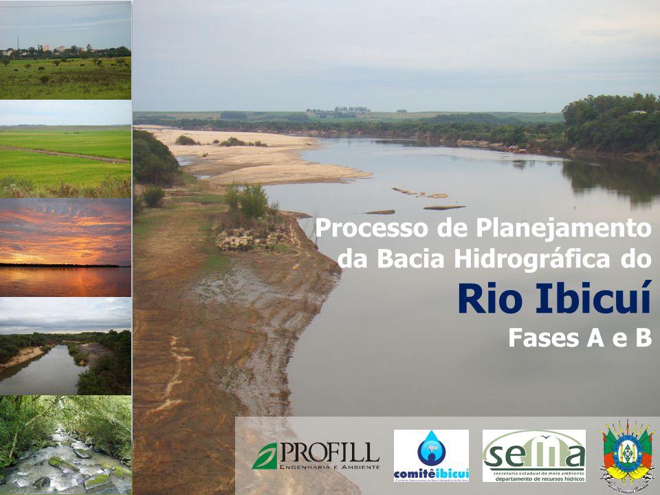 Rio Ibicuí Processo de Planejamento da Bacia Hidrográfica do
