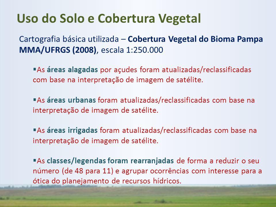Uso do Solo e Cobertura Vegetal