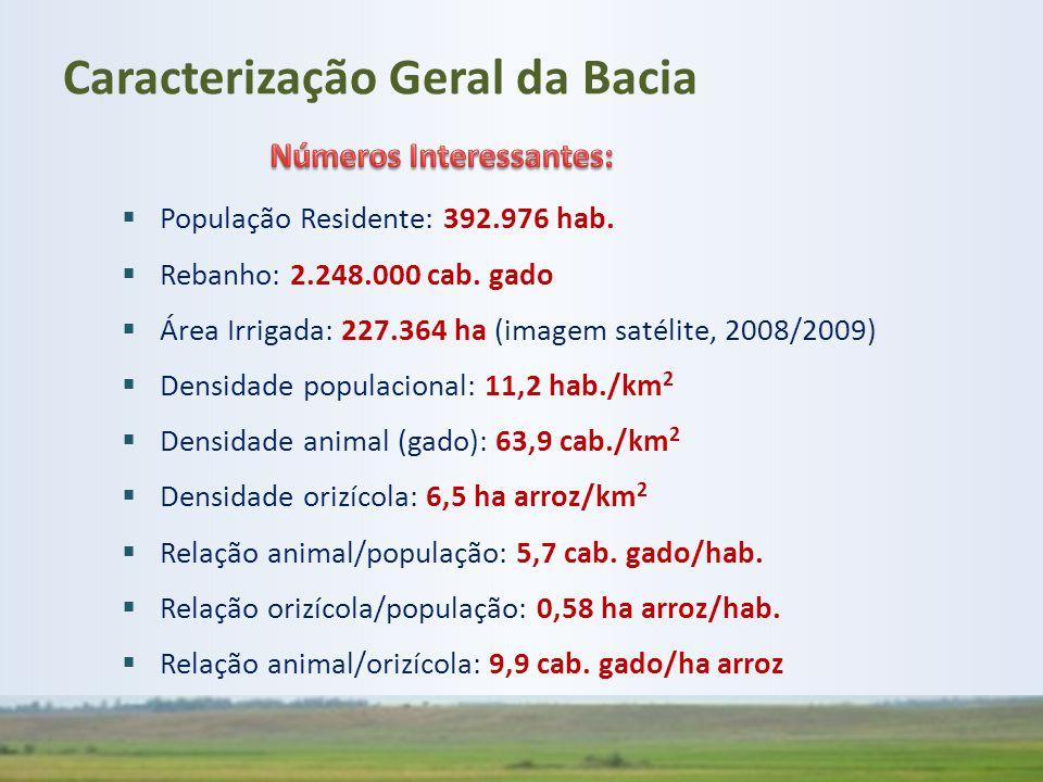 Caracterização Geral da Bacia