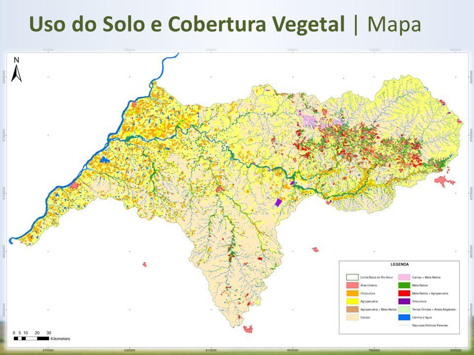Uso do Solo e Cobertura Vegetal | Mapa