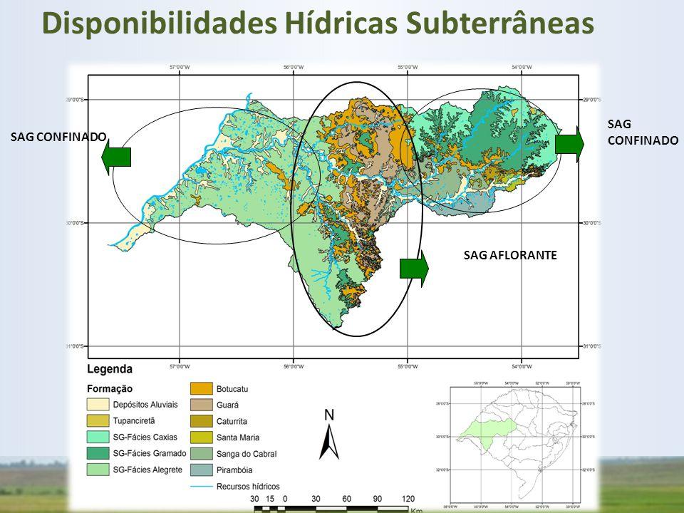 Disponibilidades Hídricas Subterrâneas