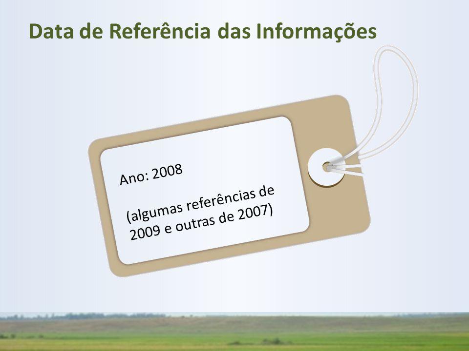Data de Referência das Informações