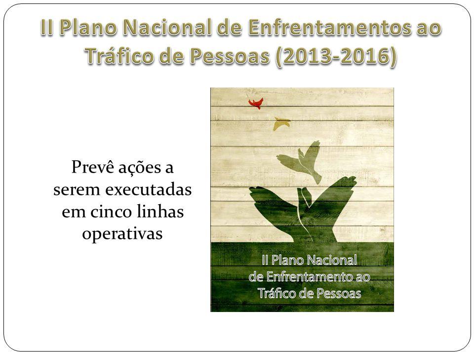 II Plano Nacional de Enfrentamentos ao Tráfico de Pessoas (2013-2016)
