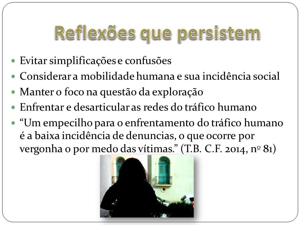 Reflexões que persistem