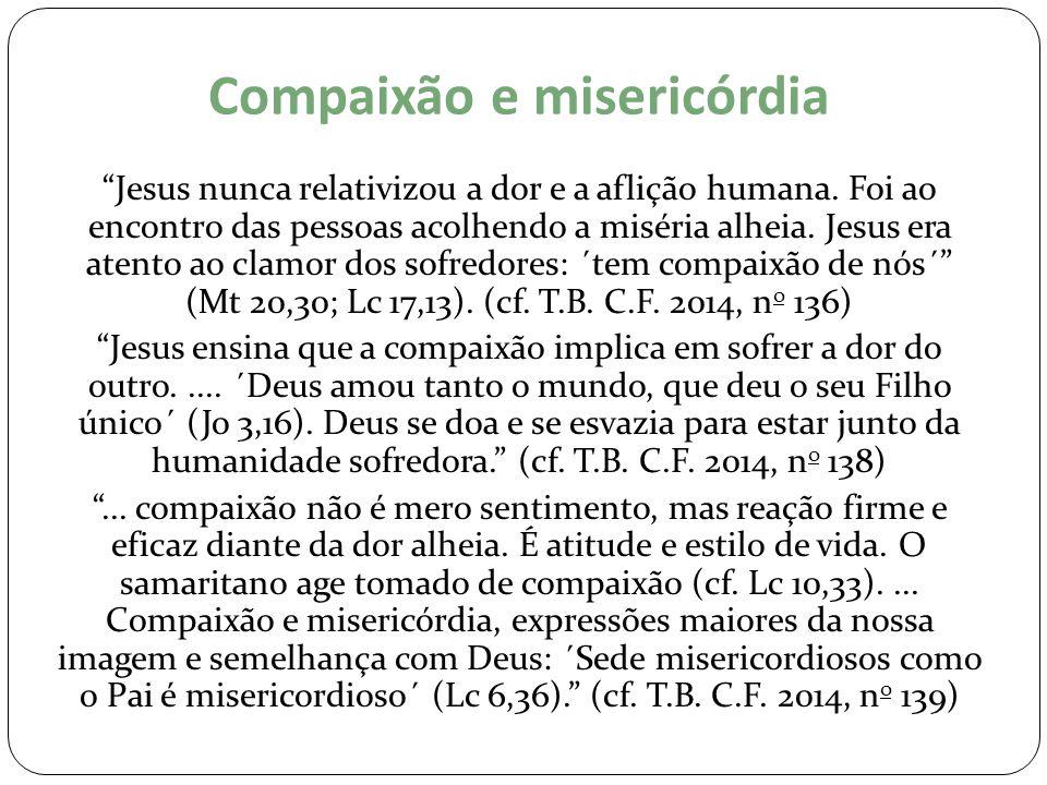 Compaixão e misericórdia