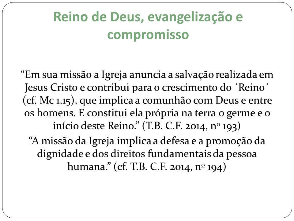 Reino de Deus, evangelização e compromisso