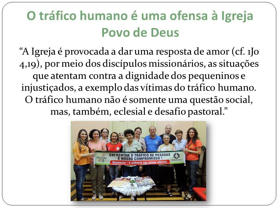 O tráfico humano é uma ofensa à Igreja Povo de Deus