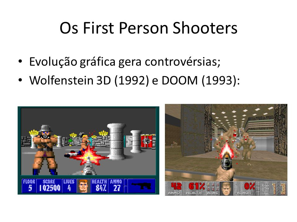 Os First Person Shooters