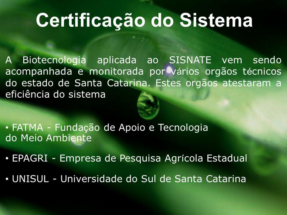 Certificação do Sistema