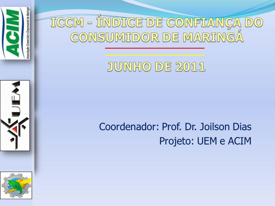 ICCM - ÍNDICE DE CONFIANÇA DO CONSUMIDOR DE MARINGÁ JUNHO DE 2011