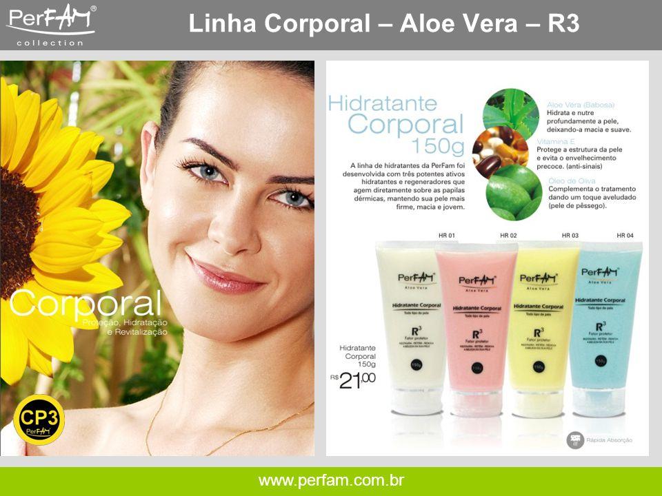 Linha Corporal – Aloe Vera – R3
