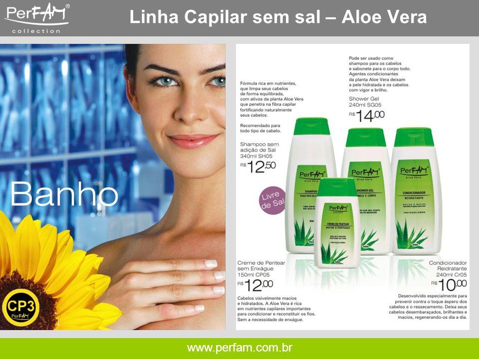 Linha Capilar sem sal – Aloe Vera
