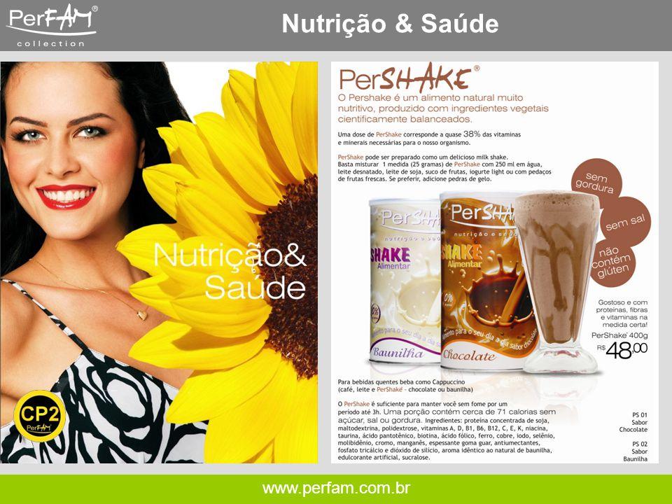 Nutrição & Saúde www.perfam.com.br