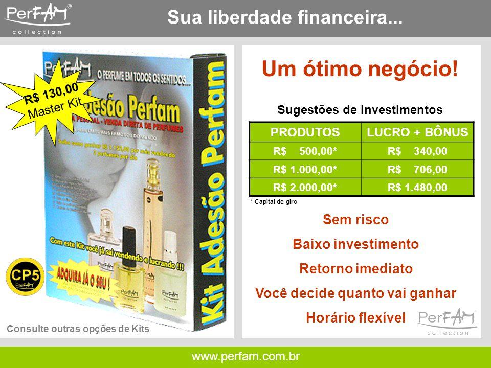 Sua liberdade financeira...