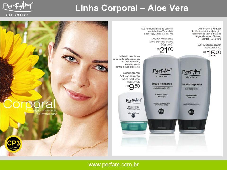 Linha Corporal – Aloe Vera