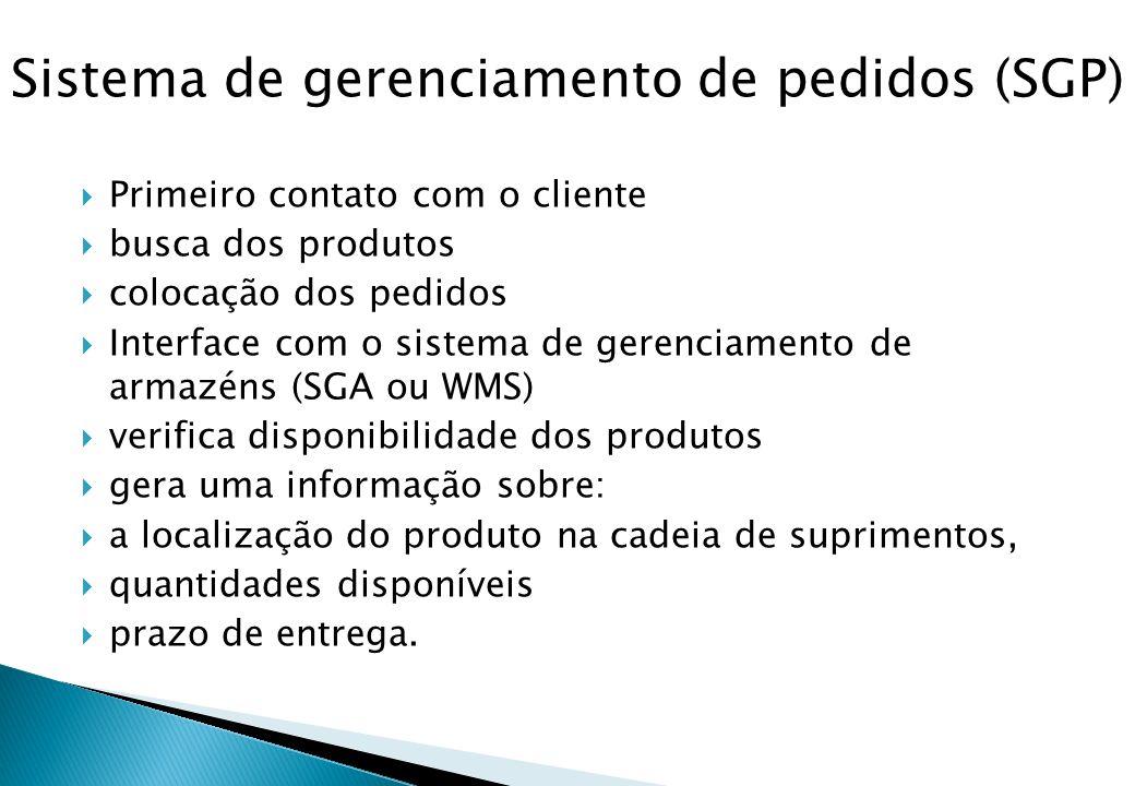 Sistema de gerenciamento de pedidos (SGP)