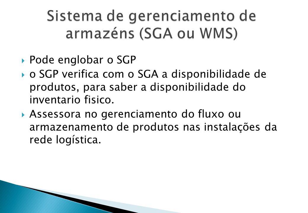 Sistema de gerenciamento de armazéns (SGA ou WMS)