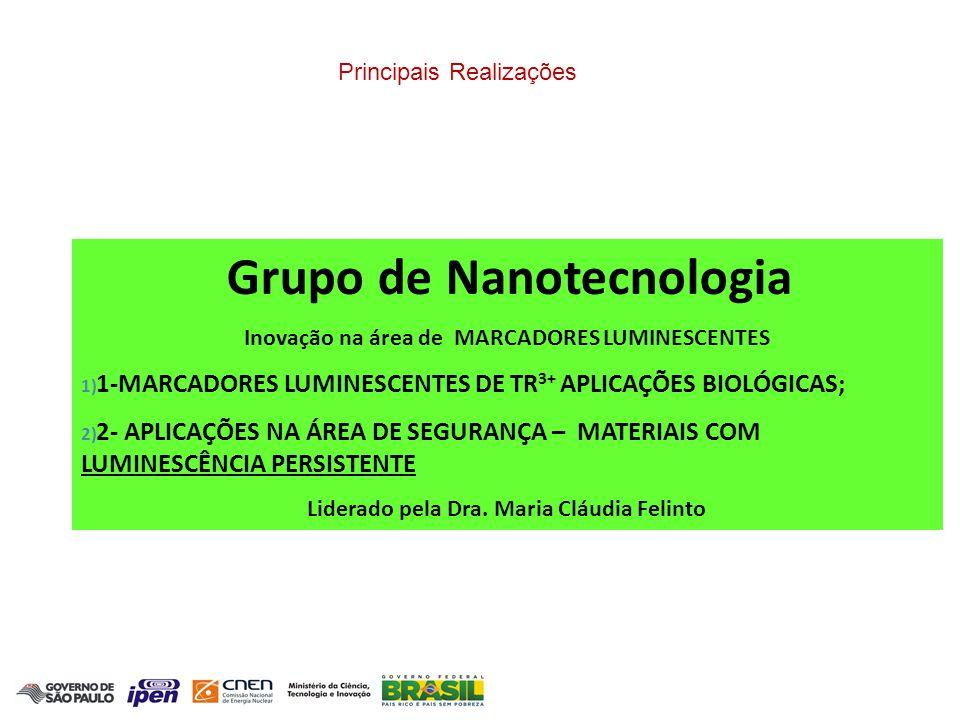 1-MARCADORES LUMINESCENTES DE TR3+ APLICAÇÕES BIOLÓGICAS;