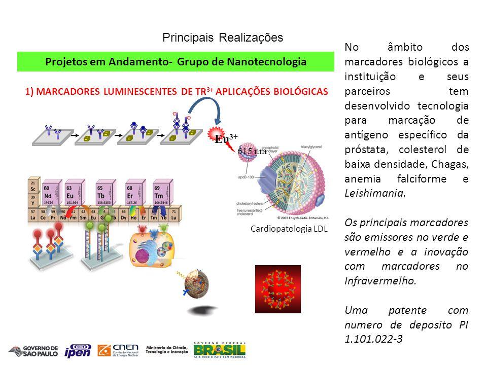 Projetos em Andamento- Grupo de Nanotecnologia
