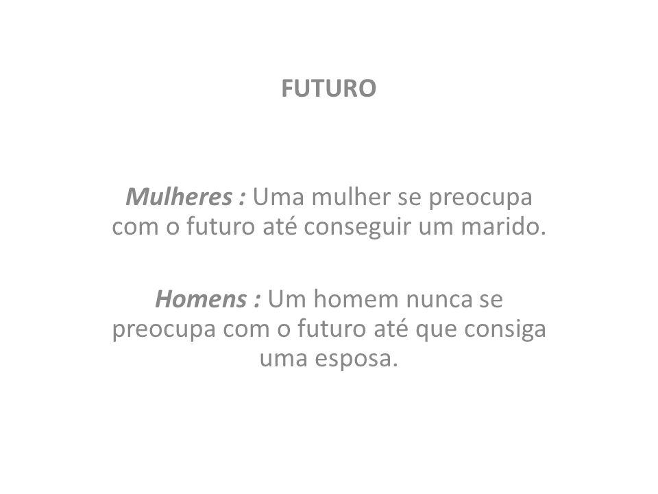 FUTURO Mulheres : Uma mulher se preocupa com o futuro até conseguir um marido.