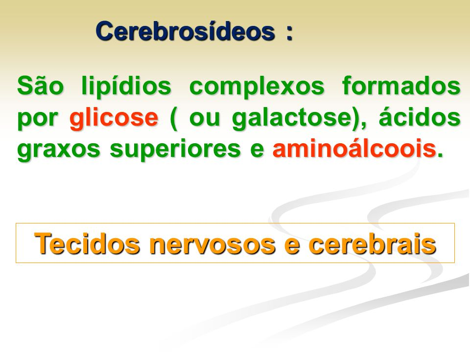 Tecidos nervosos e cerebrais