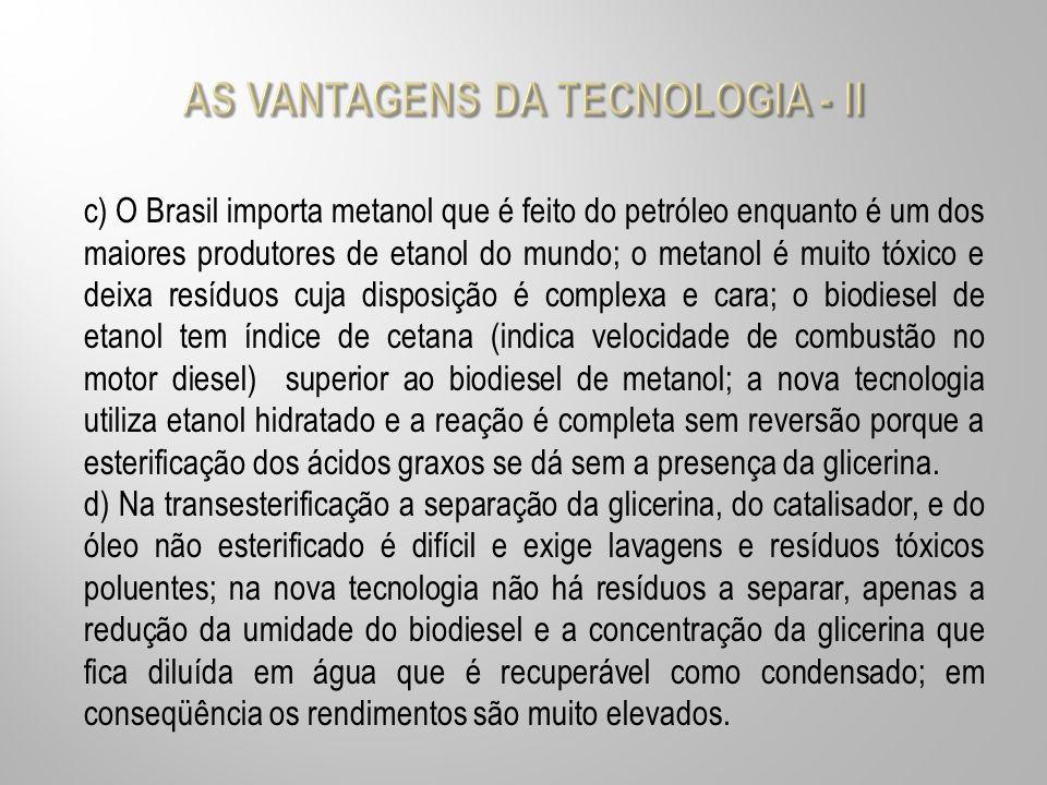 AS VANTAGENS DA TECNOLOGIA - II
