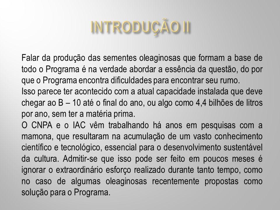 INTRODUÇÃO II