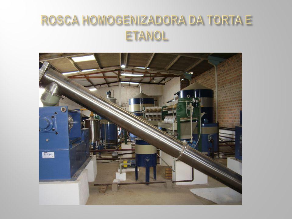 ROSCA HOMOGENIZADORA DA TORTA E ETANOL