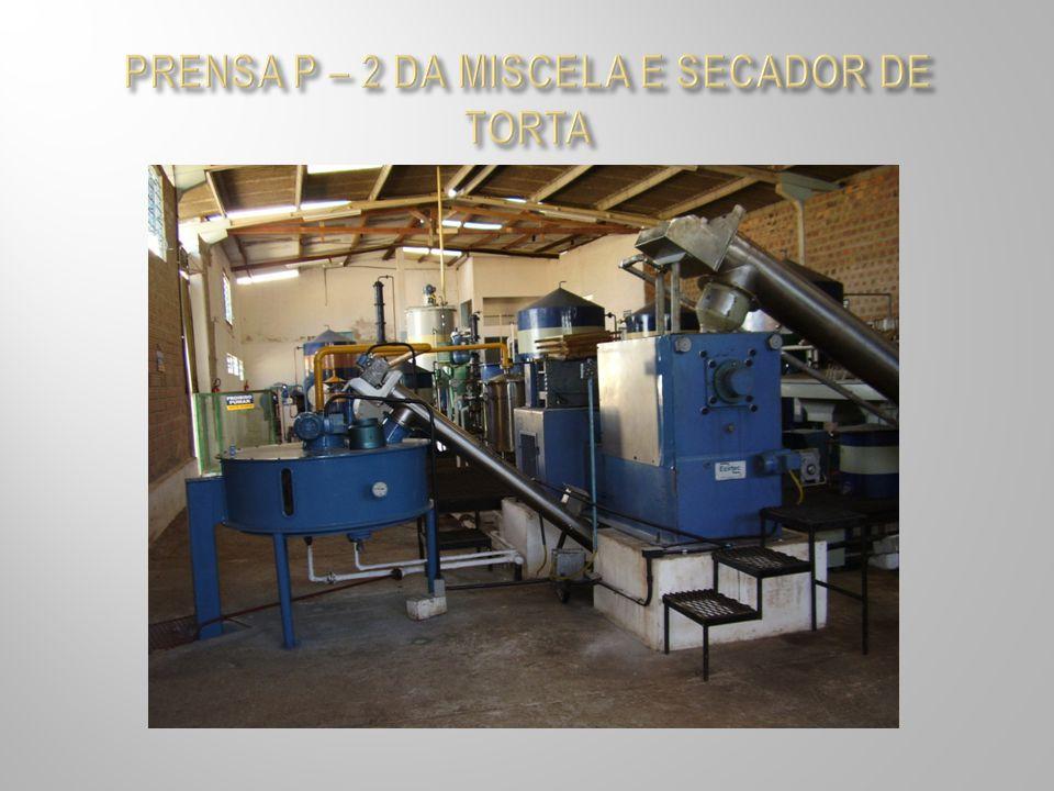 PRENSA P – 2 DA MISCELA E SECADOR DE TORTA