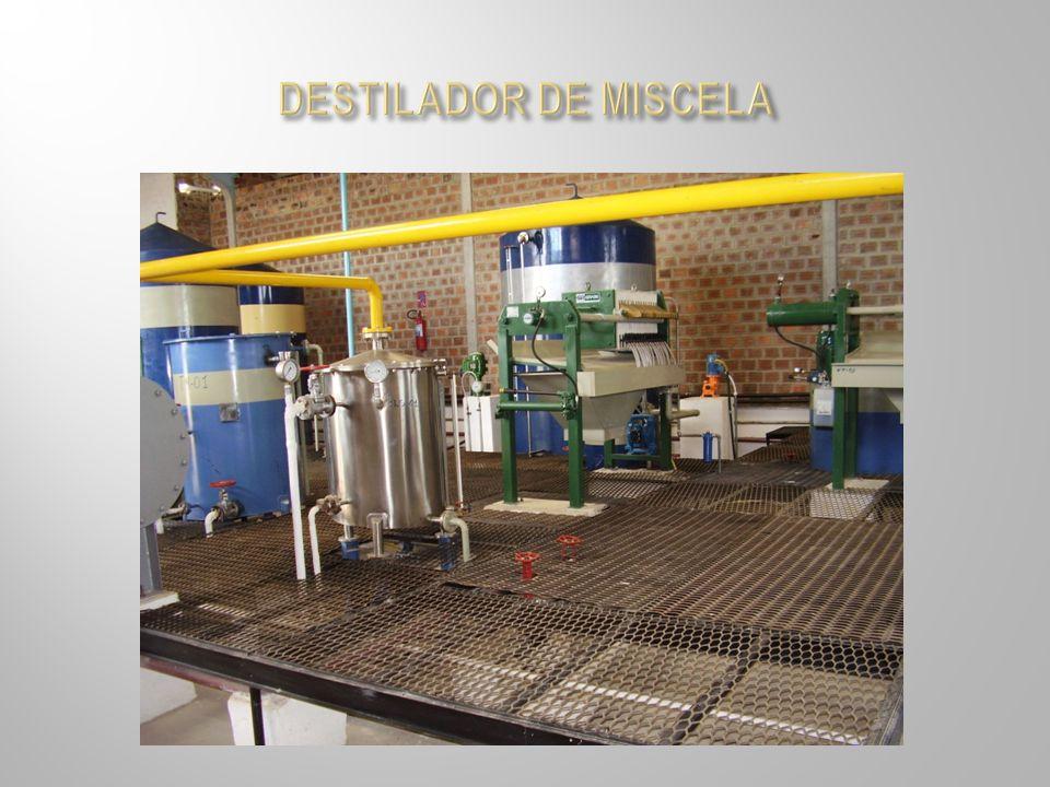 DESTILADOR DE MISCELA
