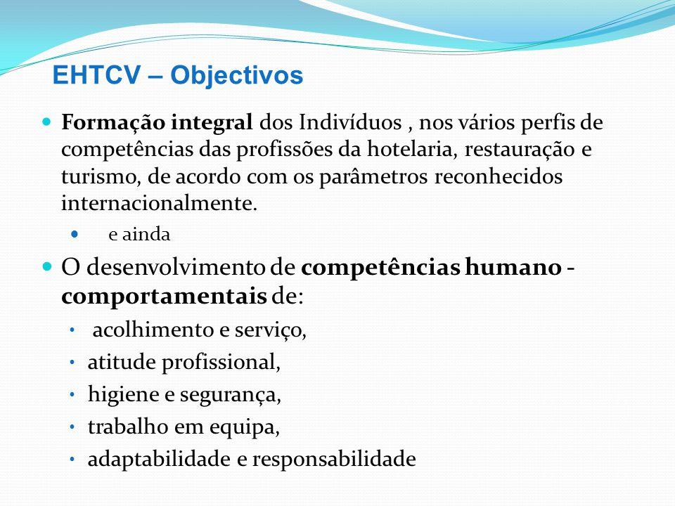 EHTCV – Objectivos