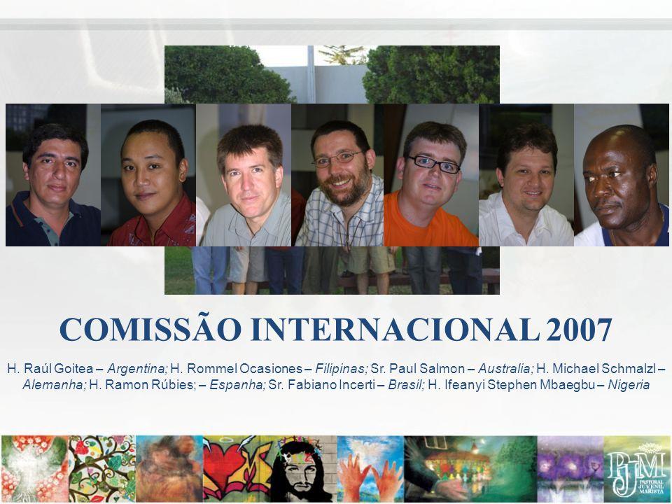 COMISSÃO INTERNACIONAL 2007