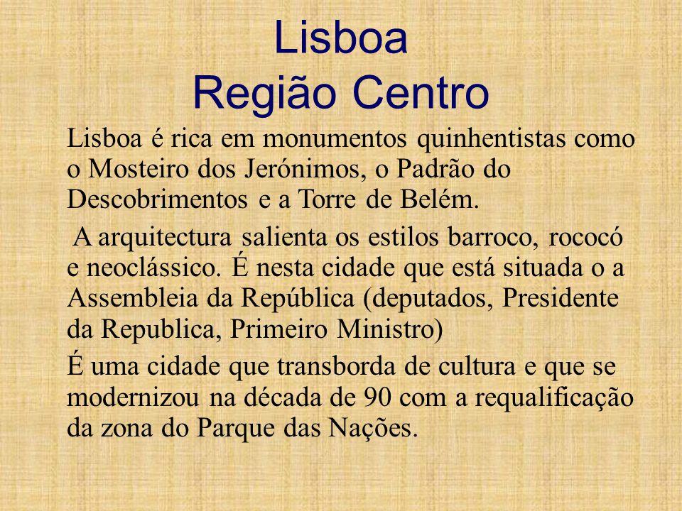 Lisboa Região Centro