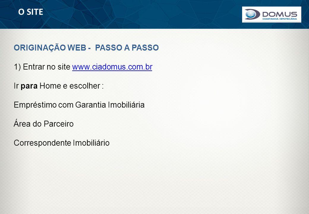 O SITE ORIGINAÇÃO WEB - PASSO A PASSO
