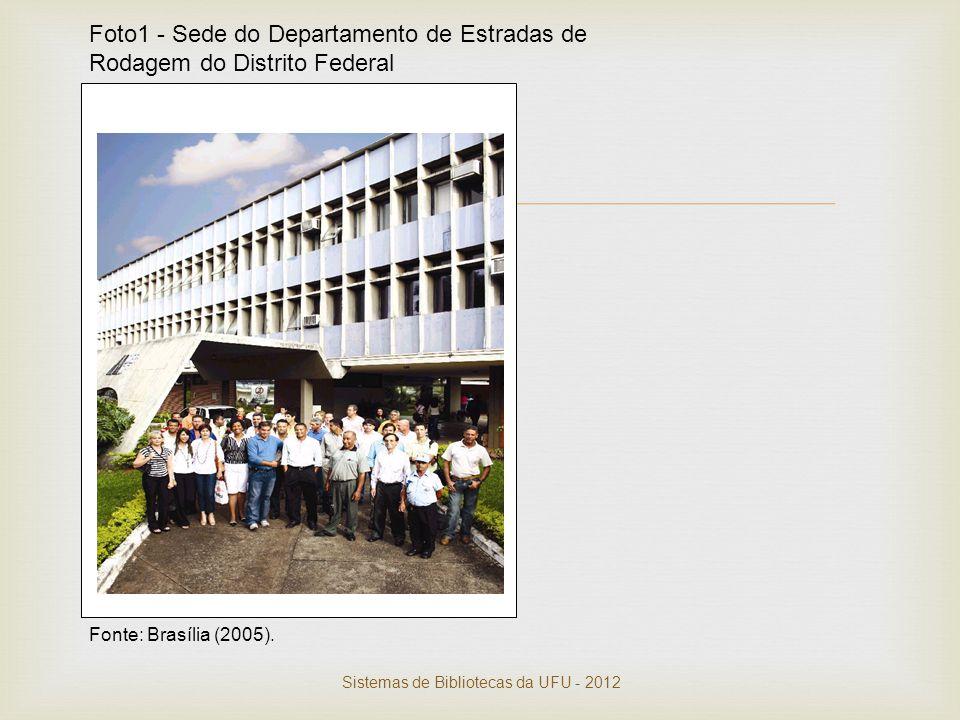 Sistemas de Bibliotecas da UFU - 2012