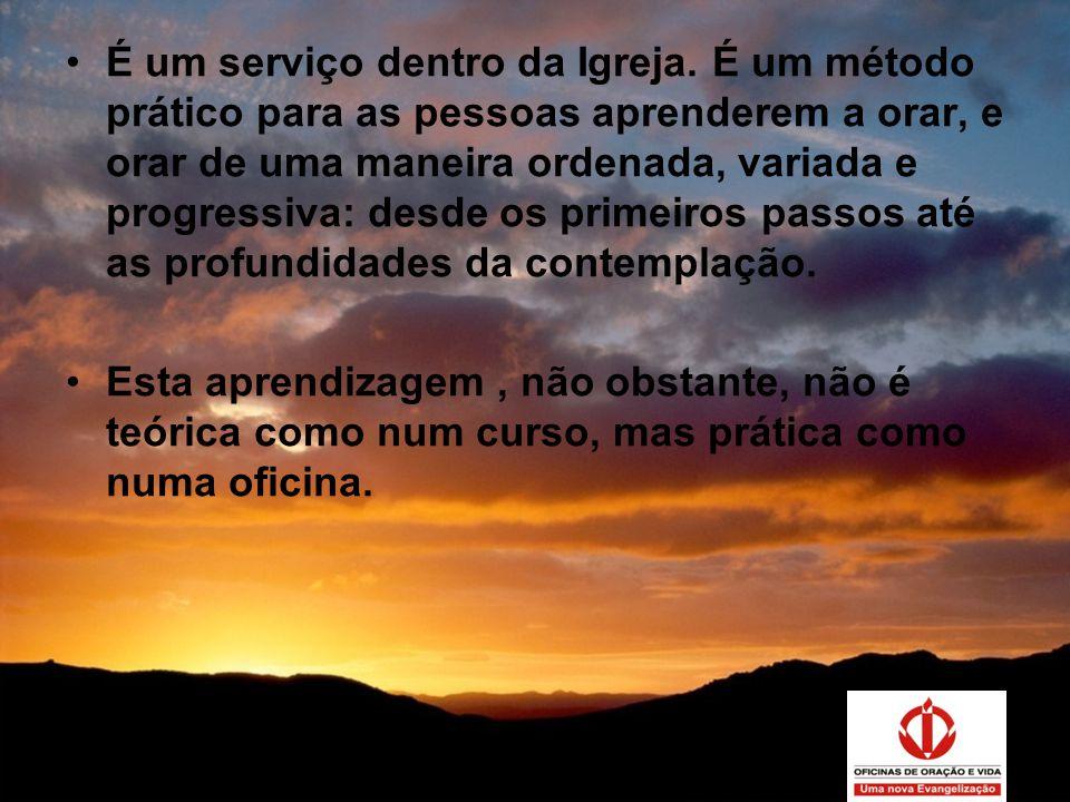 Super Você sabe o que é uma Oficina de Oração e vida? - ppt carregar QH89