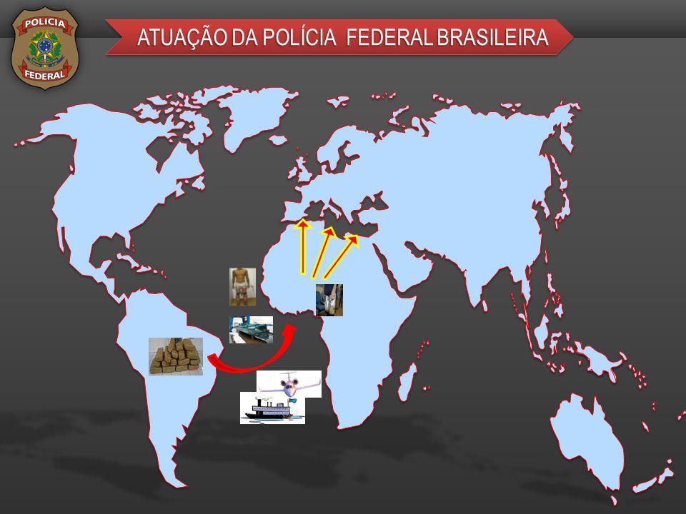 ATUAÇÃO DA POLÍCIA FEDERAL BRASILEIRA