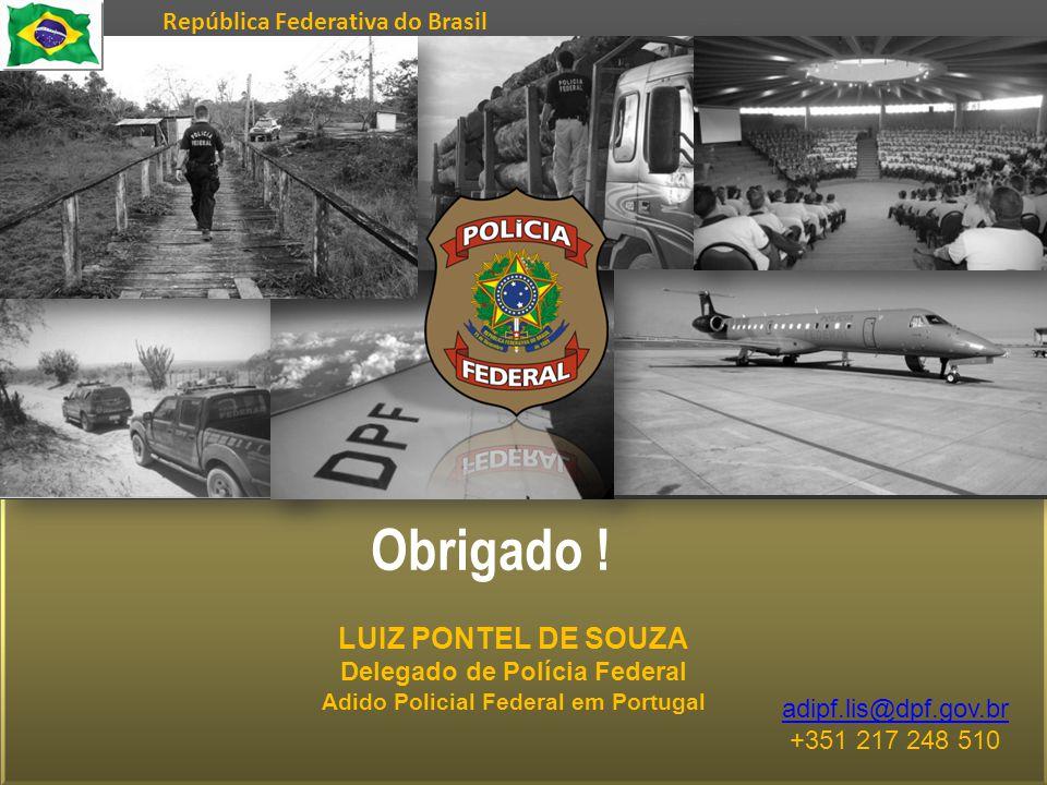 Delegado de Polícia Federal Adido Policial Federal em Portugal