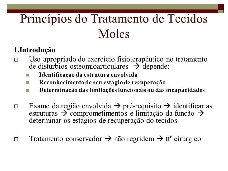 Princípios do Tratamento de Tecidos Moles