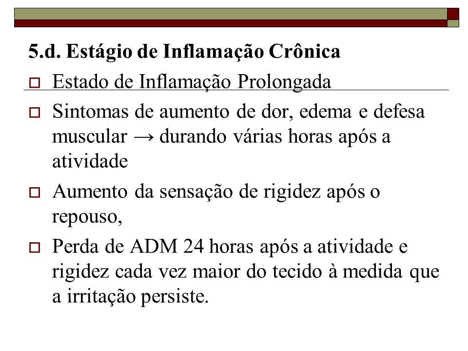 5.d. Estágio de Inflamação Crônica